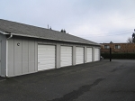 7 x 13 Garage Style Storage Unit
